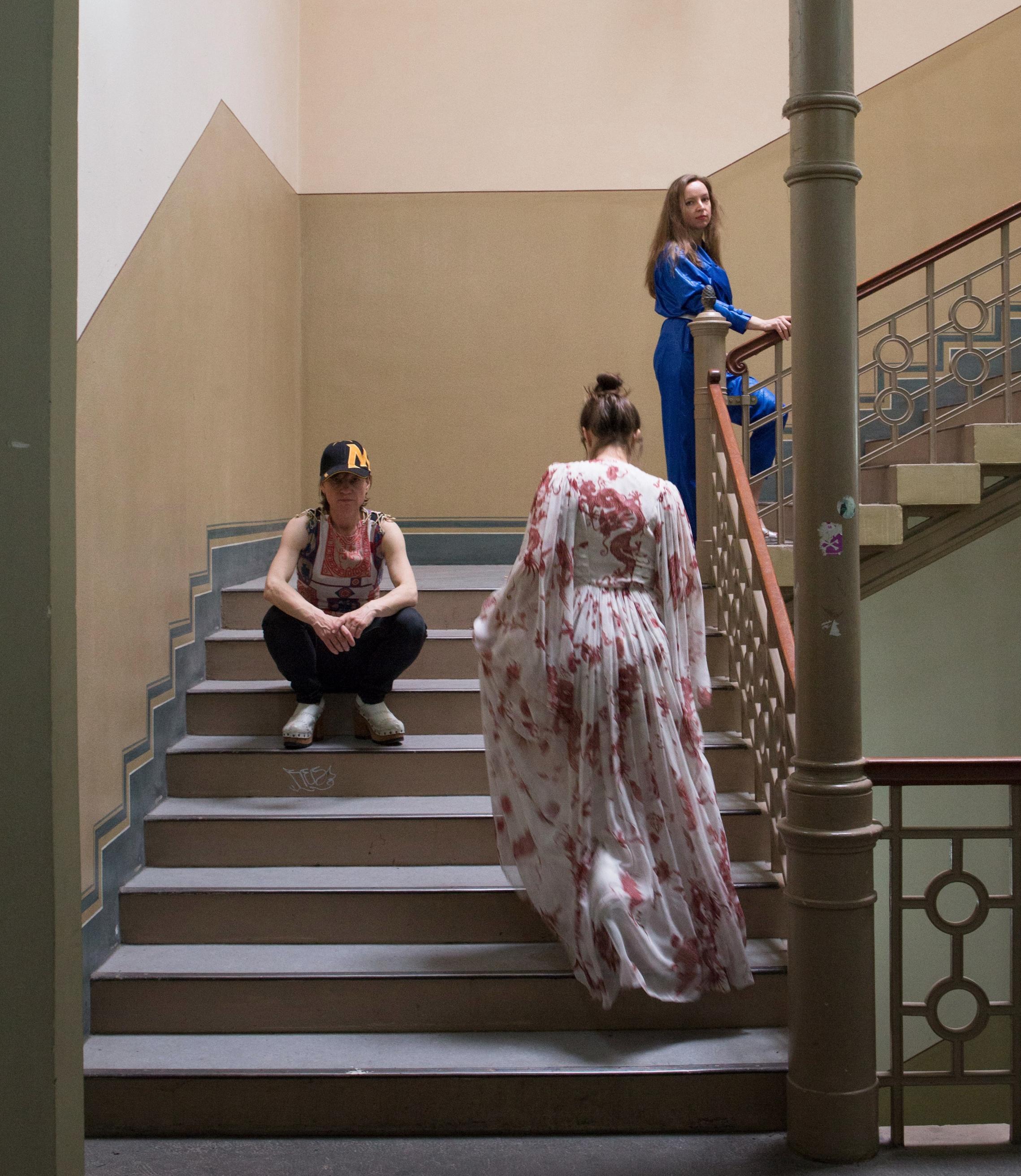 KostŸmprobe mit Regina, Petra, Svetlana